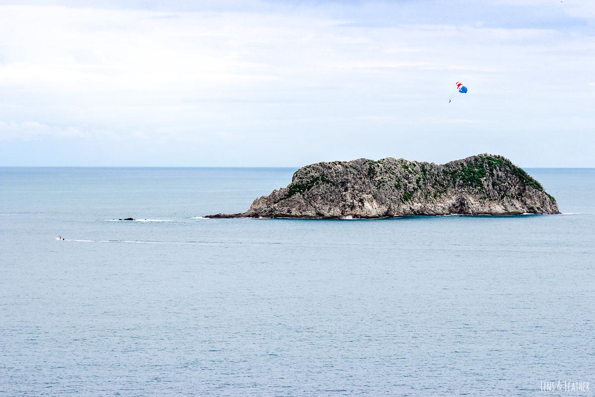 Insel vor dem Nationalpark Manuel Antonio