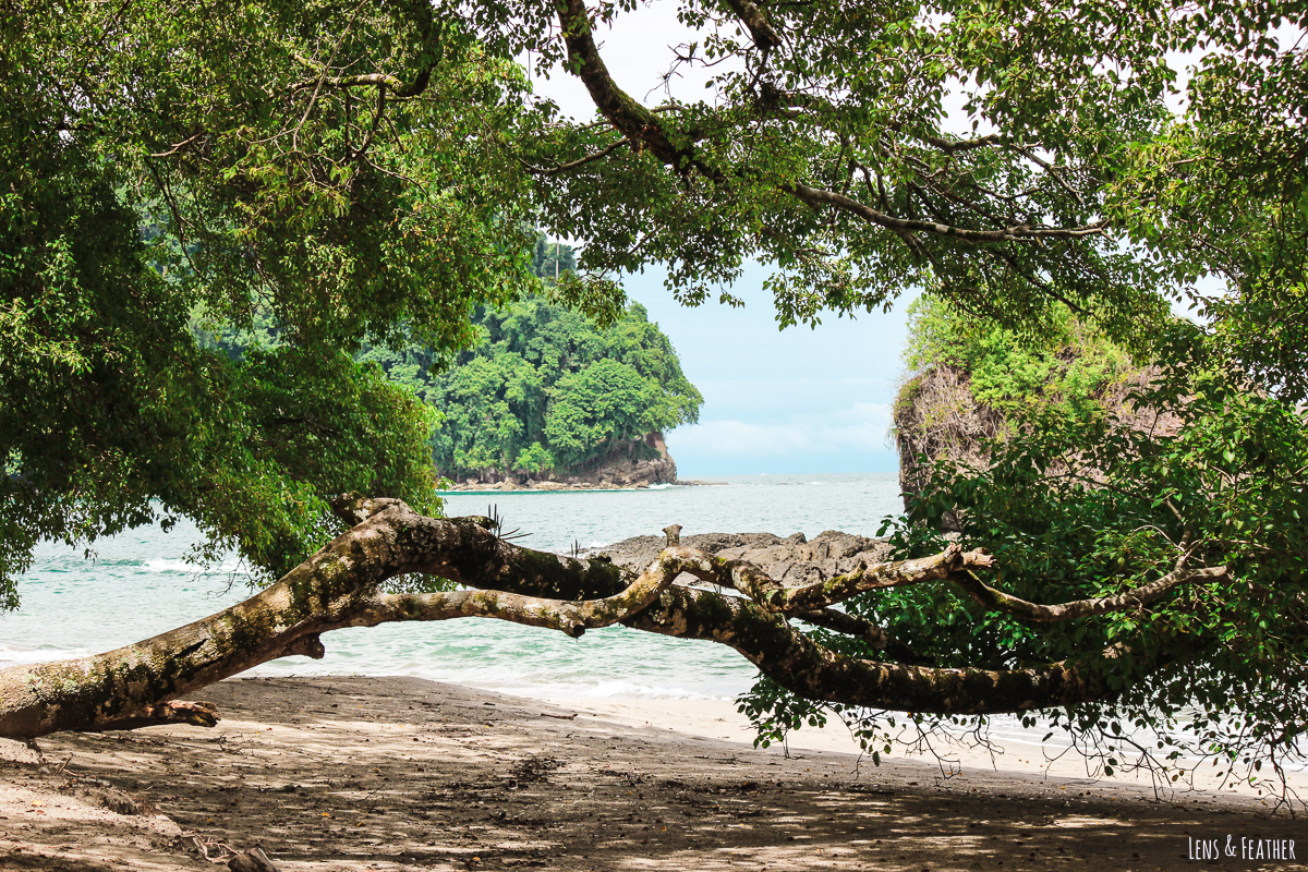 Strand Espadilla Sur im Nationalpark Manuel Antonio