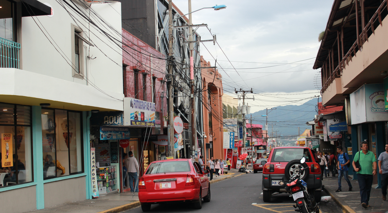 Straße in Costa Rica