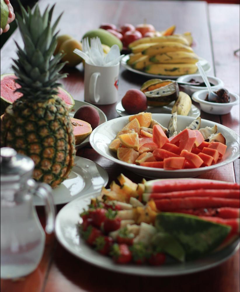 Tropische Früchte in Costa Rica
