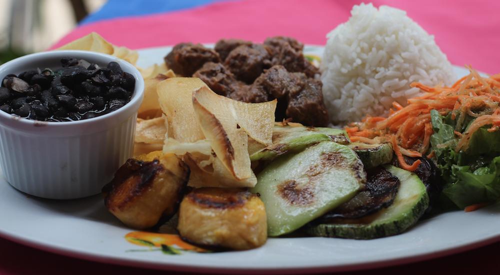 Typisches Gericht in Costa Rica