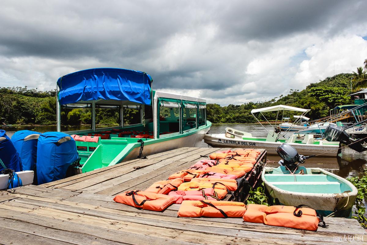 Bootanlegestelle von Sierpe zum Corcovado