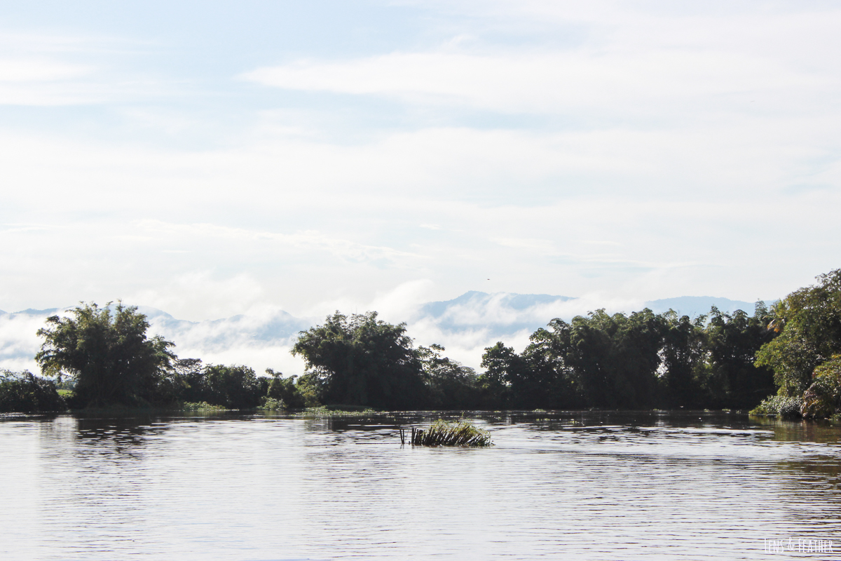 Der Rio Sierpe in Costa Rica