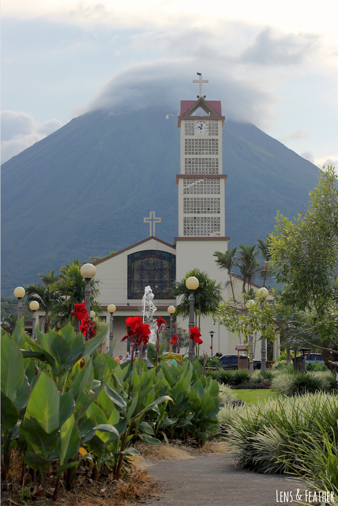 Kirche in La Fortuna Costa Rica