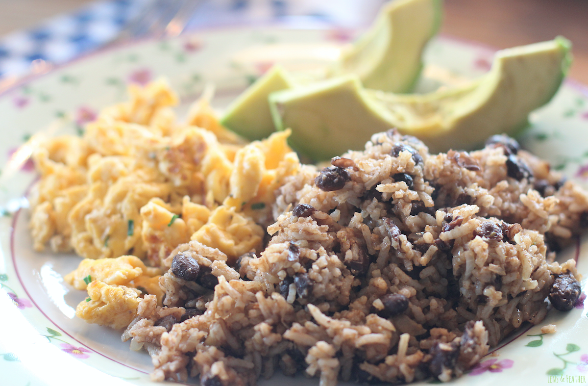 Gallo Pinto in Costa Rica