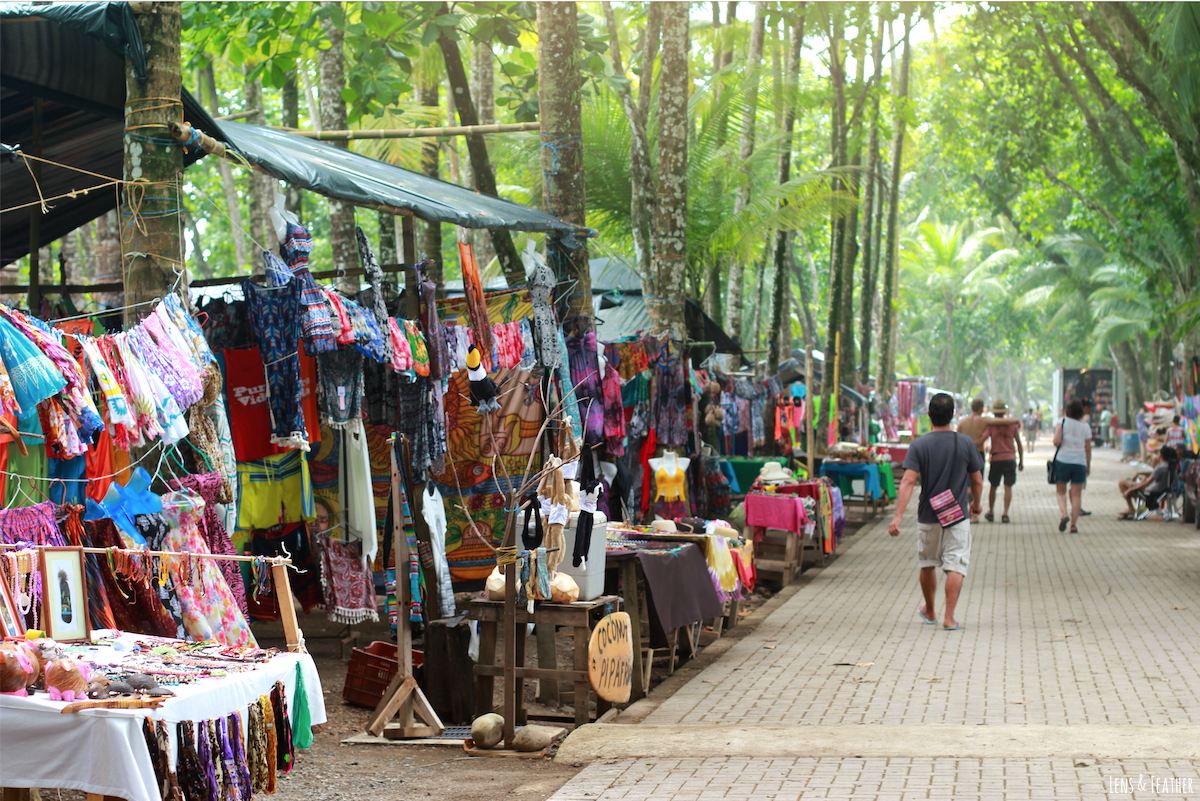 Strandmarkt in Dominical Costa Rica