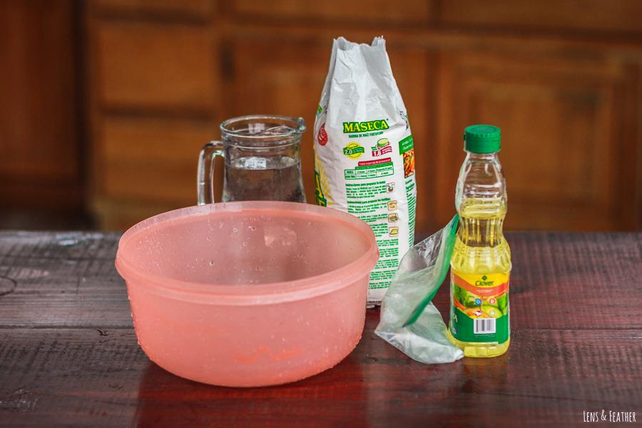 Zutaten für Empanadas in Costa Rica