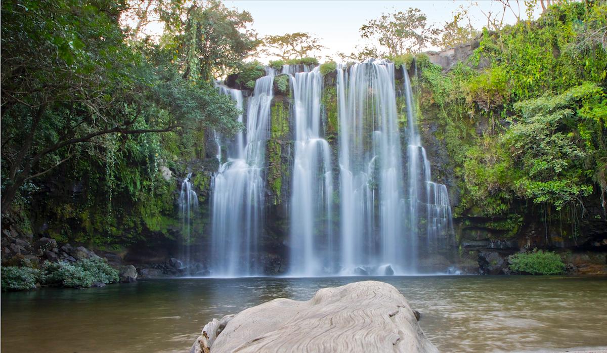 Wasserfall Llanos de Cortes