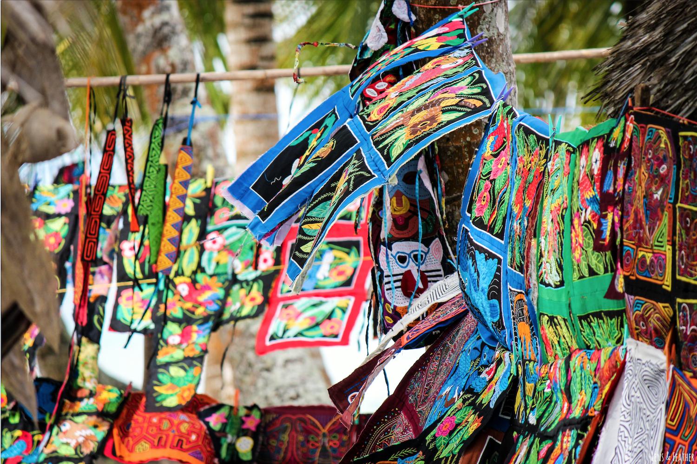 Mola Kunst der Kuna