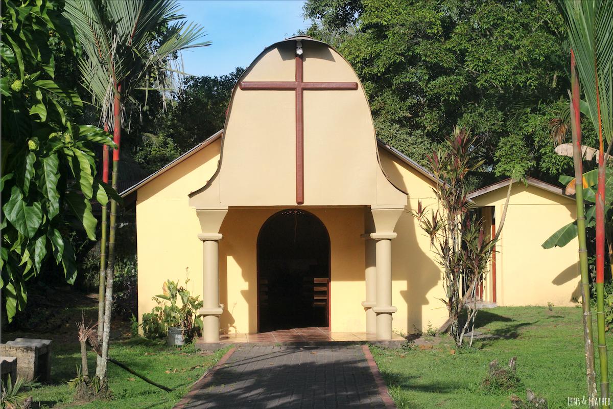 Kirche in Tortuguero Costa Rica