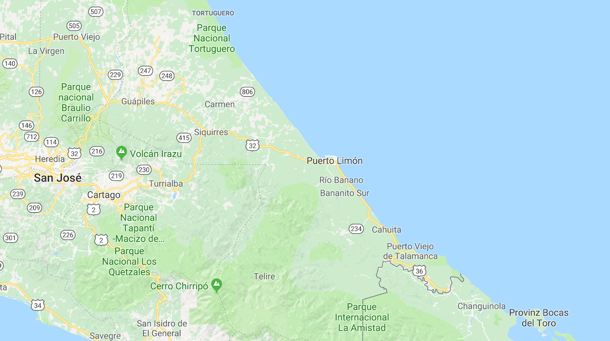 Costa Ricas Karibikküste - Puerto Viejo, Cahuita & Tortuguero