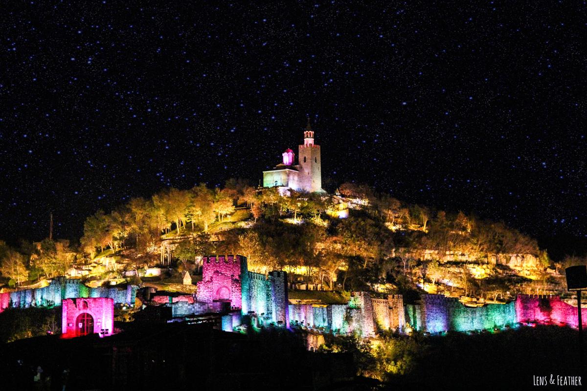 Lichtershow in Veliko Tarnovo