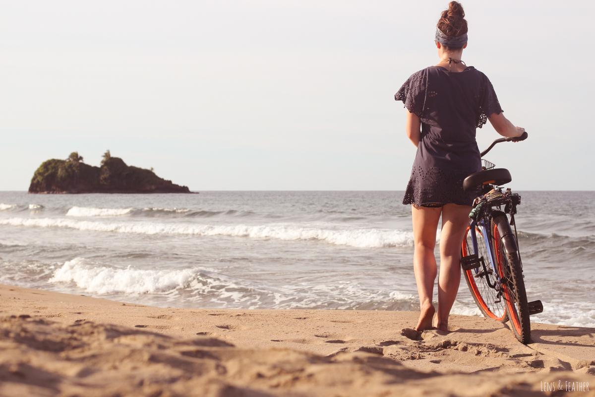 Fahrradfahren in Puerto Viejo