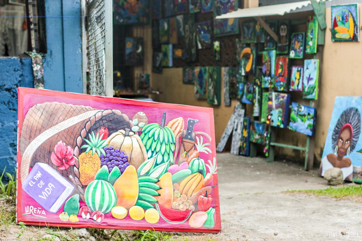 Kunstladen in Cahuita Costa Rica