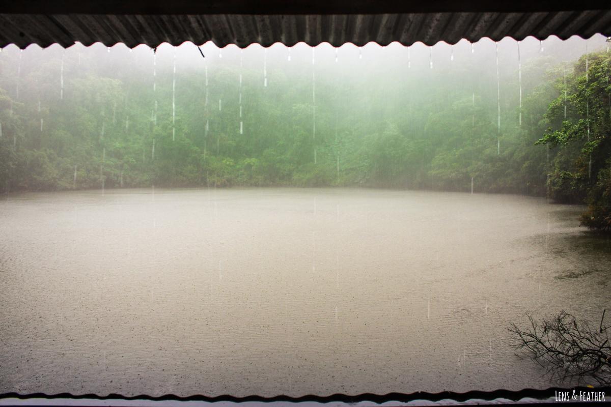 Lagune Copey am Vulkan Barva