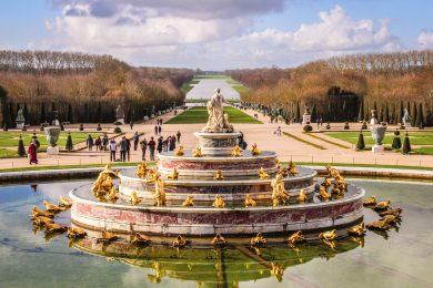 Brunnen im Schlossgarten von Versaille