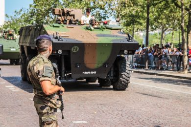 Militärparade am 14. Juli in Paris