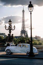 Old Timer auf der Pont Alexandre