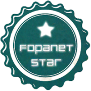 Fopanet Star - Lens and Feather