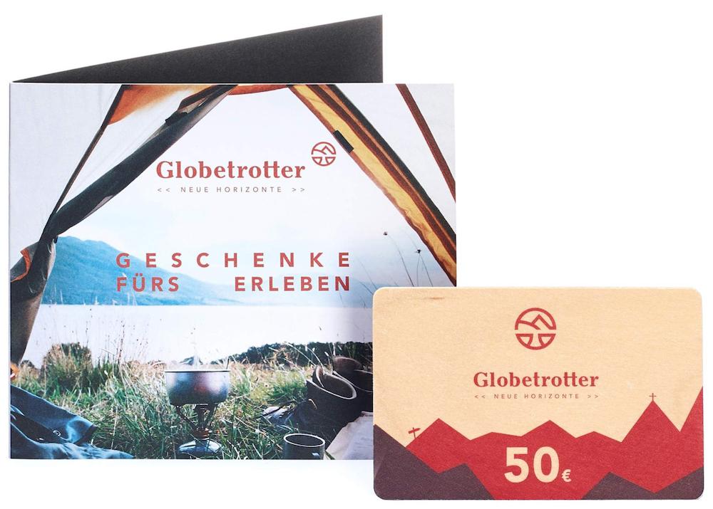 Globetrotter Geschenkgutschein für Reisende