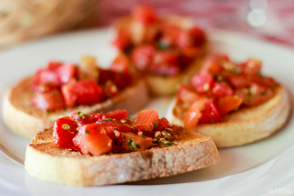 Bruschetta in Italien