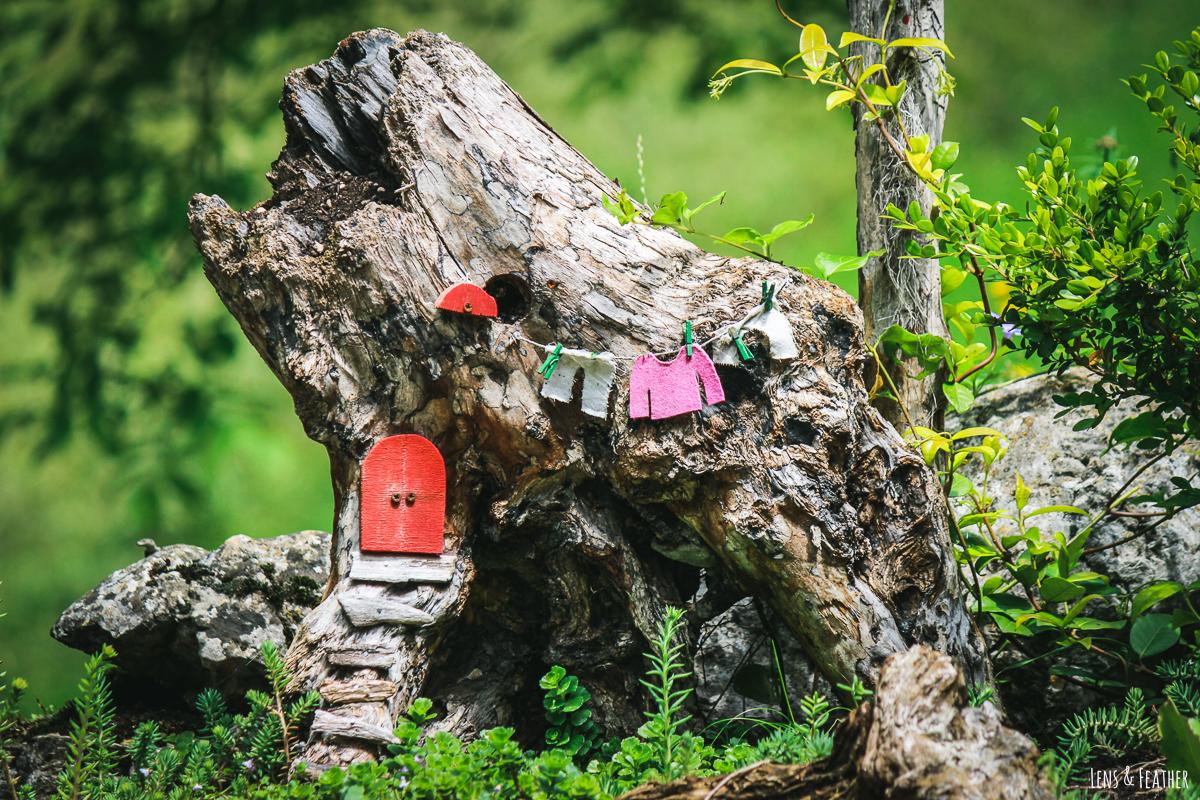 Kleines Feenhaus am Gardasee