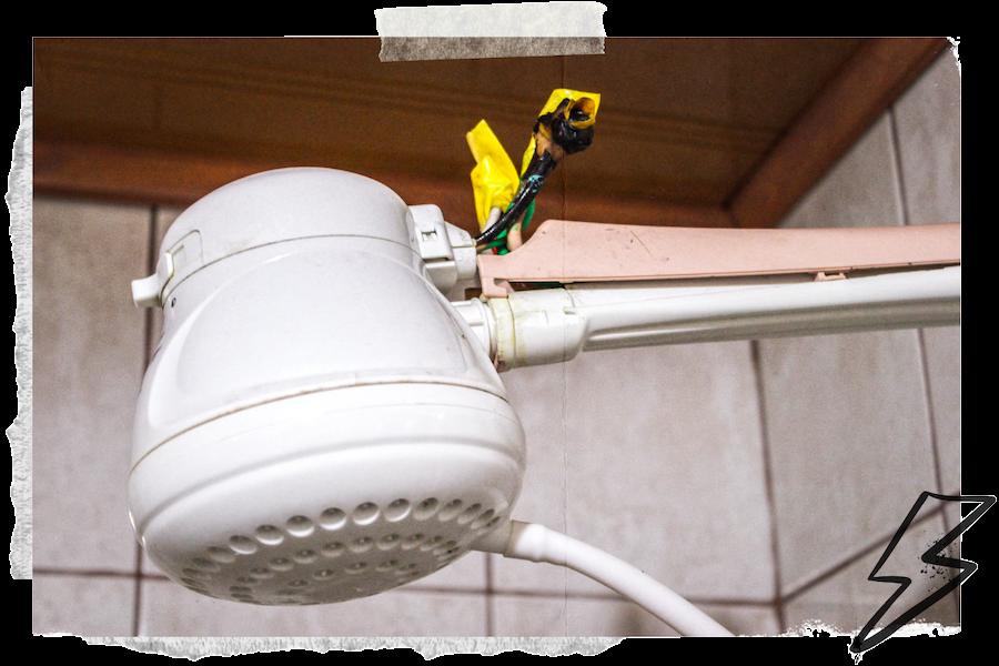 Elektrische Duschen mit Stromkabel in Costa Rica