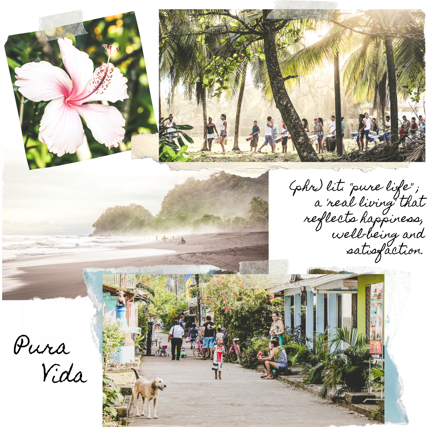 Bedeutung von Pura Vida Costa Rica