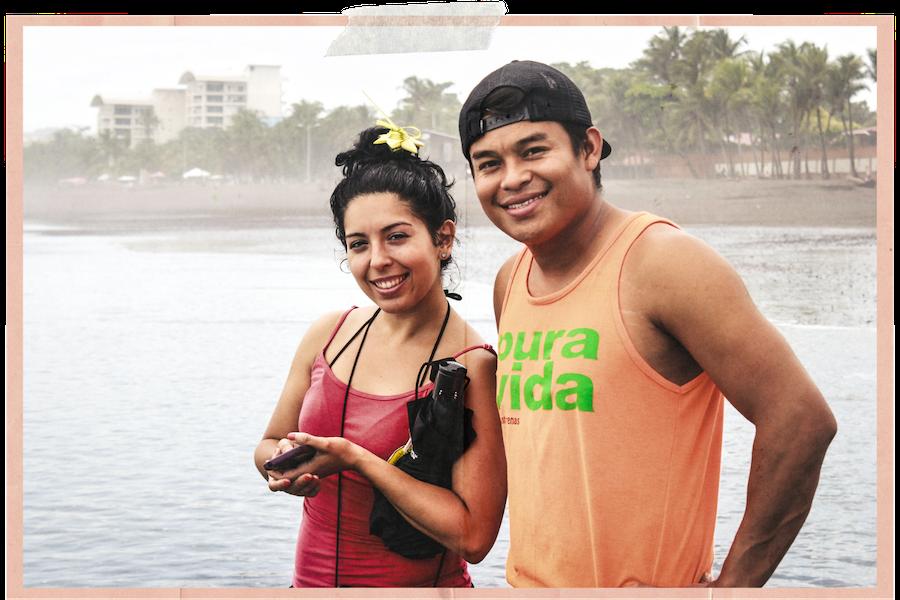 Tico und Tica in Costa Rica