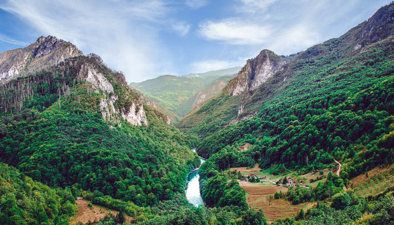 Berglandschaft in Montenegro - Fotografie Blog Lens and Feather